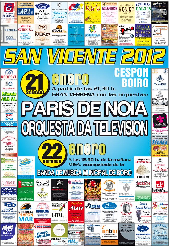 cartel san vicente 2011 GRANDE
