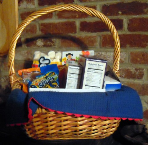 get well birthday basket for arden