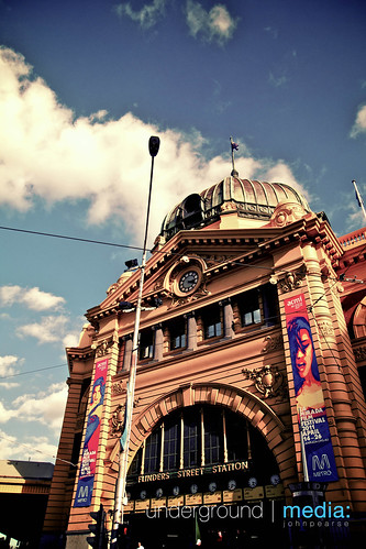Flinders Station - Melbourne by john_pearse