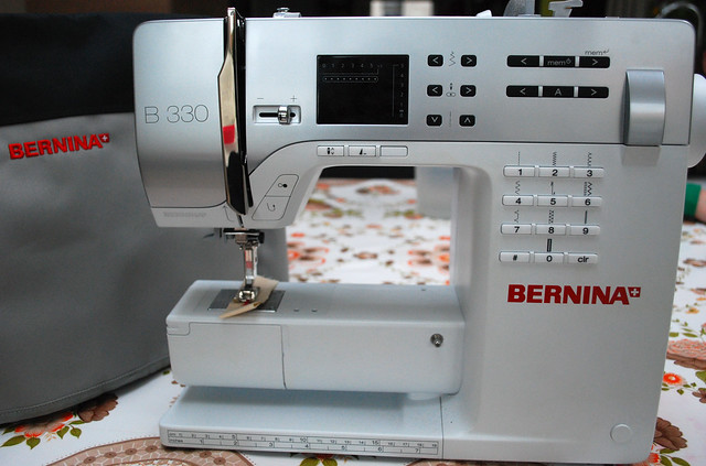 Me and my Bernina