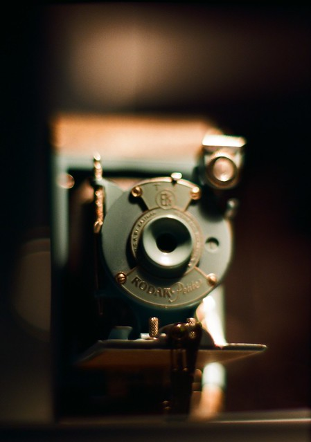 This Kodak Petite is being displayed in Oslo Film Museum