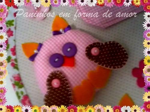 Meu projeto prontinho!! by ♥Paninhos em forma de amor♥
