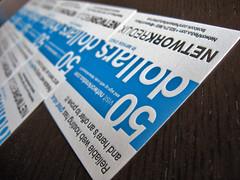 Network Redux Letterpress Cards