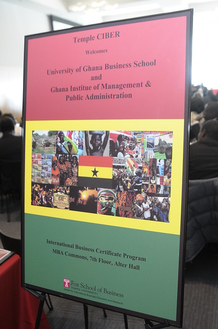 CIBER Welcomes the University of Ghana Business School (February 2010)