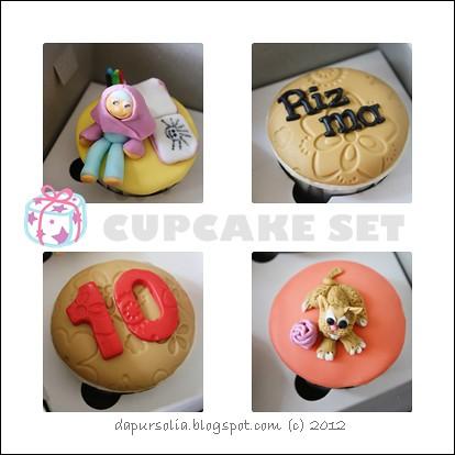Cupcake Set Paket Mini