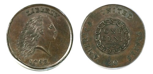 Million Dollar 1793 cent