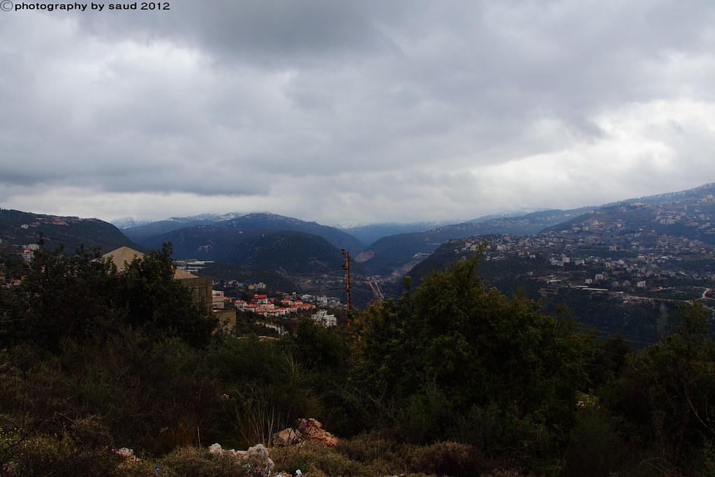 بيروت الشتاء مايحمله وثلوج وأمطار وضباب 6697178453_81828c223