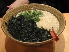 Wakame udon at Manpuku