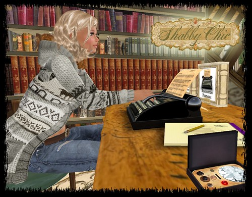 Shabby Chic - Typing at my desk by Shabby Chics