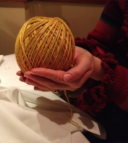 Nora and the Golden Yarn Egg