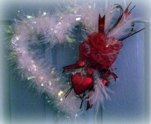 Valentine's Wreath 2012 by davisturner