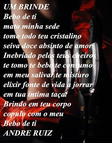 UM BRINDE by amigos do poeta