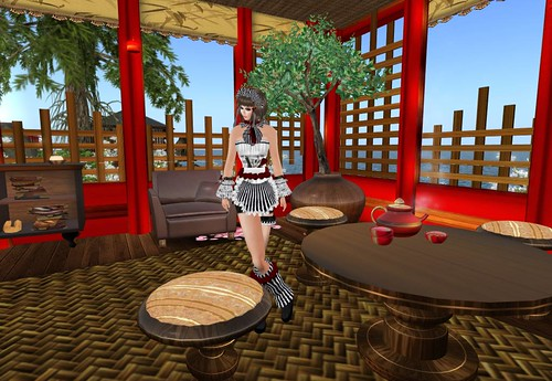 Bubblez - Cafe Lolita Outfit - The Cafe Hunt by Cherokeeh Asteria