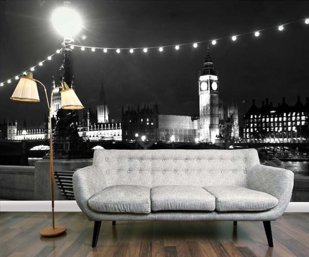 Love London View From South Bank Wallpaper Mural Flickr