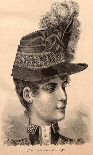 014- La Última moda-revista ilustrada hispano-americana, deñ 13 de febrero de 1888-© MemoriadeMadrid