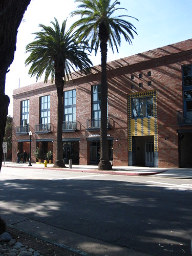 Front half of Mission Meridian Village in South Pasadena