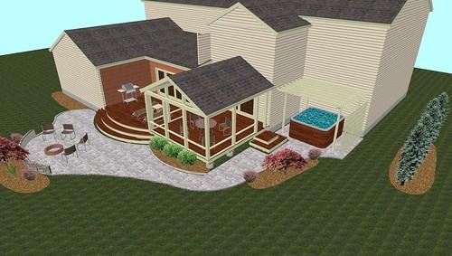 Screen Porch, Patio, and Deck Design