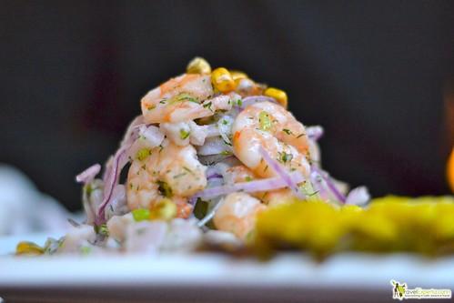 peruvian restaurant antigua guatemala - peruvian shrimp ceviche