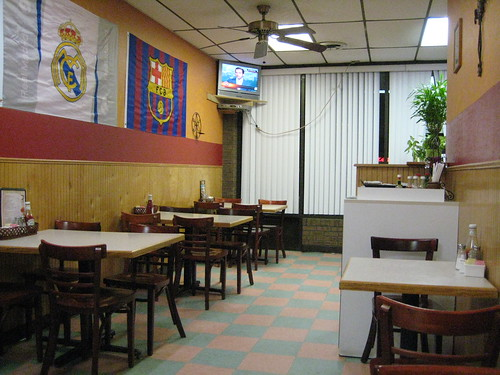 Interior of Chris' Restaurant