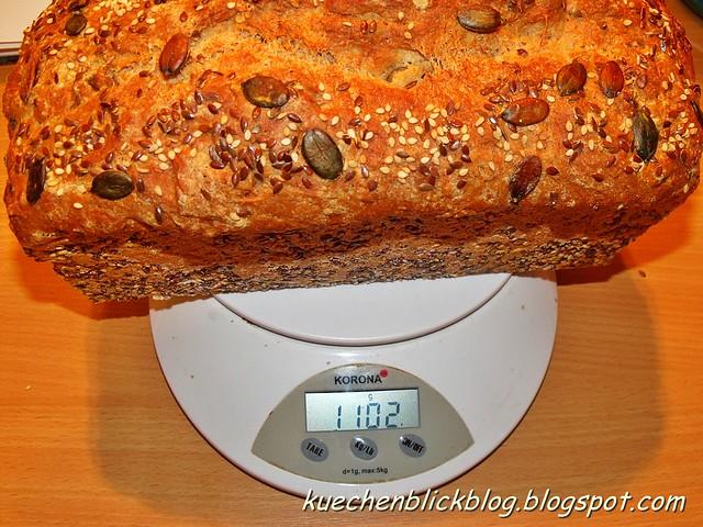 Vollkorn Kürbiskern Brot