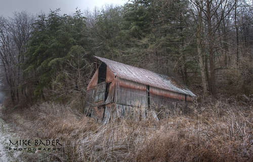 Failing Barn HDR