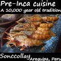 Sonccollay - Pre Inca Cuisine