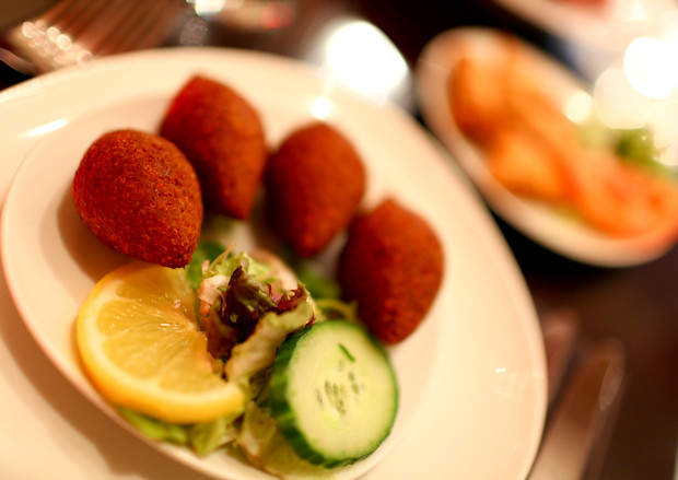 Kibbeh at Mamounia Lounge in Knightsbridge