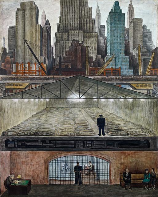 Diego Rivera -  Frozen Assets   1931  (Inside MoMA)