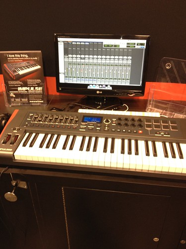 NAMM 2012 - Novation, Casio