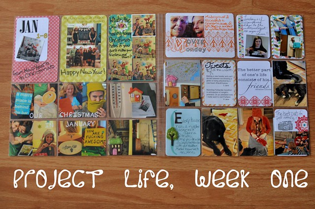 Project Life - Week One