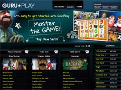 Guru Play Casino Lobby