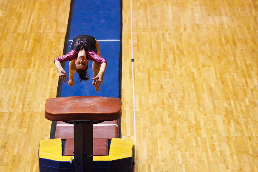 012012 009 Gymnastics - MU vs Denver ak