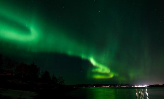 Nordlys ( Aurora Borealis )