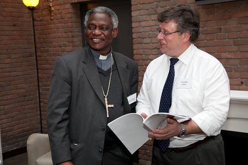 Cardinal Turkson with CIDSE President Chris Bain_4 (copyright TWoijiechowski_CIDSE)