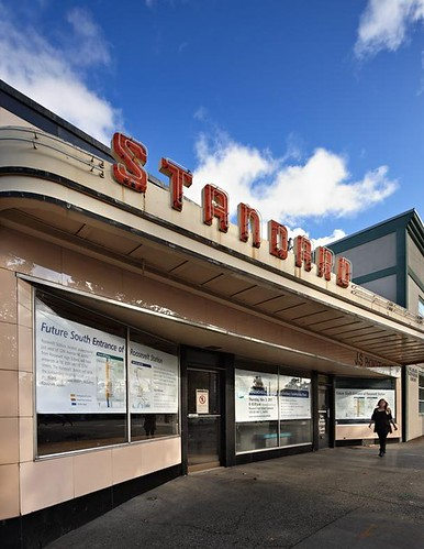 Standard Record & Hi-Fi presides on Northeast 65th Street as a vestige of 1940s-era commercial Seattle
