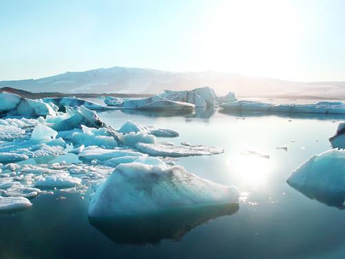 [フリー画像素材] 自然風景, 氷山・氷河, 風景 - アイスランド ID:201202020600