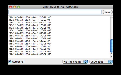 Screen Shot: XBee Wireless Serial Port