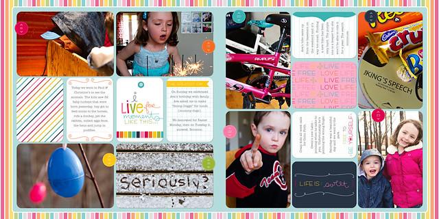 April 2011 - Project Life