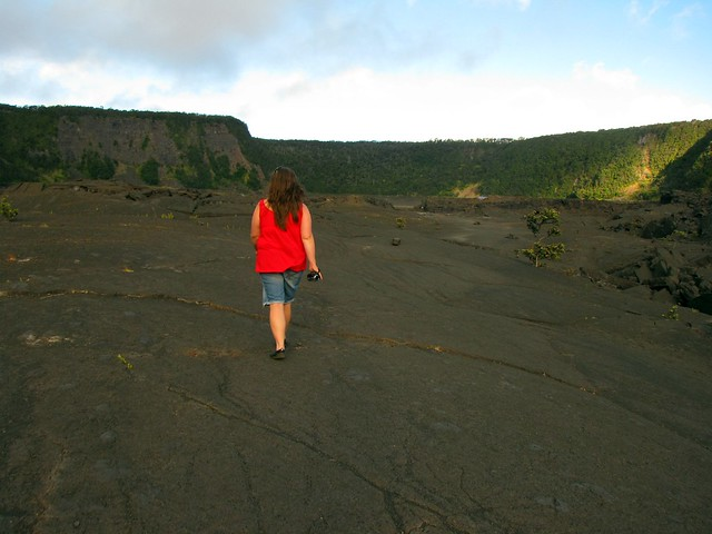 Walking the Crater