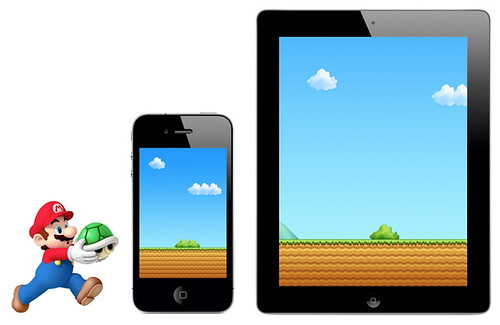 Super Mario Bros. iPhone Wallpaper