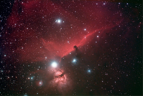 2012 IC434 with Scopos APO TL805+0.8X+AstronomikCLS 550D