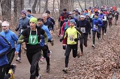 Na mrazivém Rybakrosu se radovali orientační běžci Šedivý a Gregorová