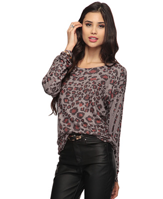 Leopard Sublimation Top