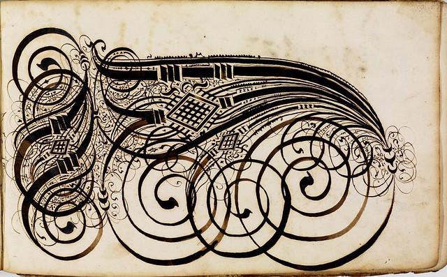 Kalligraphische Schriftvorlagen by Johann Hering e