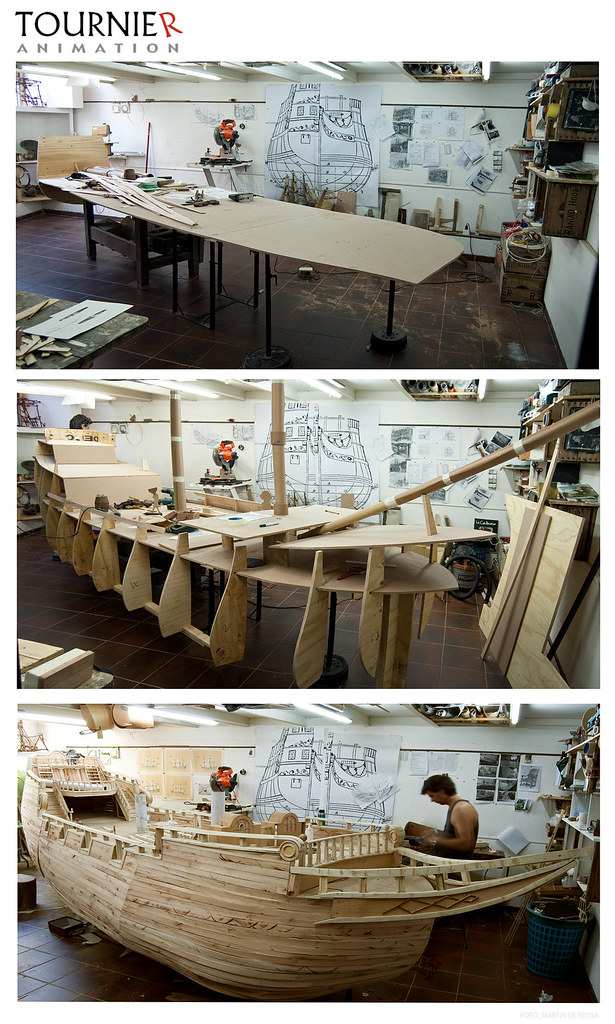 Making of Selkirk - proceso de construccion del barco