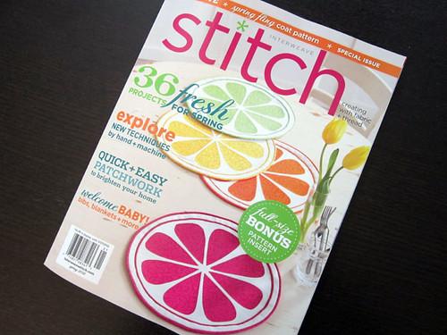 Stitch Magazine spring 2012