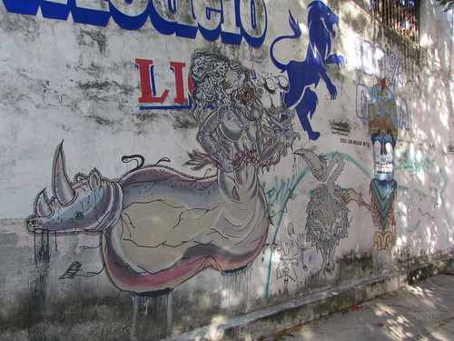 Streetart in Cancun, Mexico