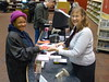 Customer gets her first Library card at the Main Library! by Public Library of Cincinnati & Hamilton County
