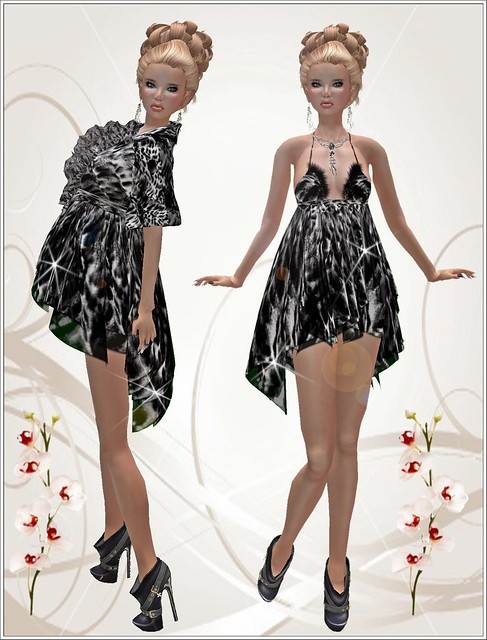 Morea Style - Adeline Leopard *Black*