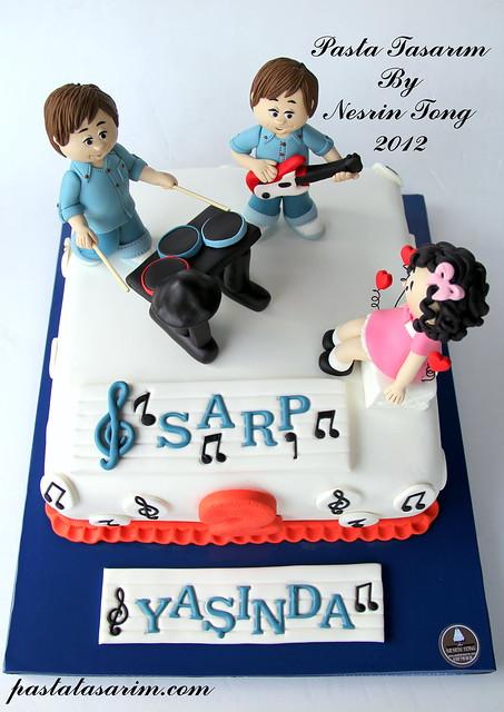 orchestra birthday cake/ sarp 2nd birthday cake